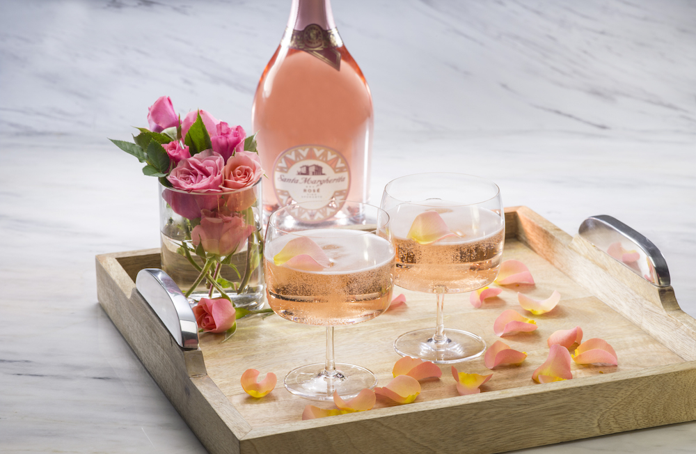 santa margherita sparkling rosé