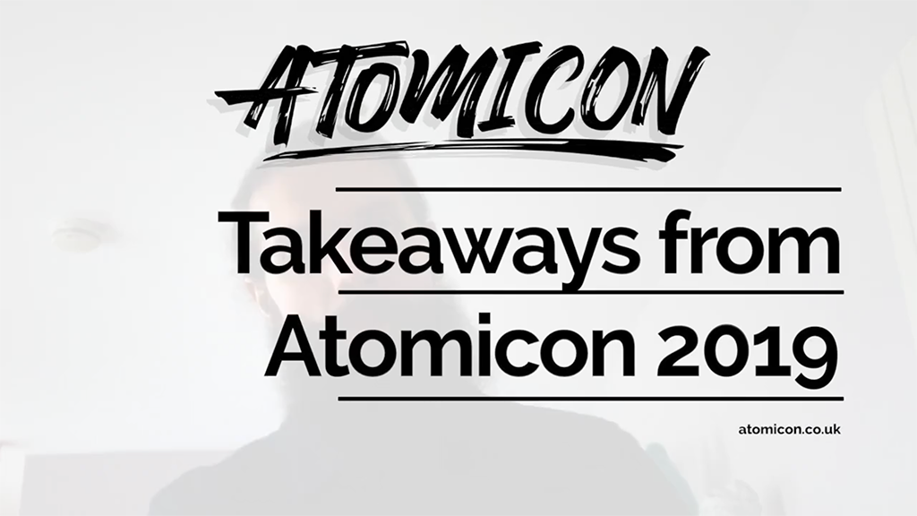Review of ATOMICON marketing and membership conference