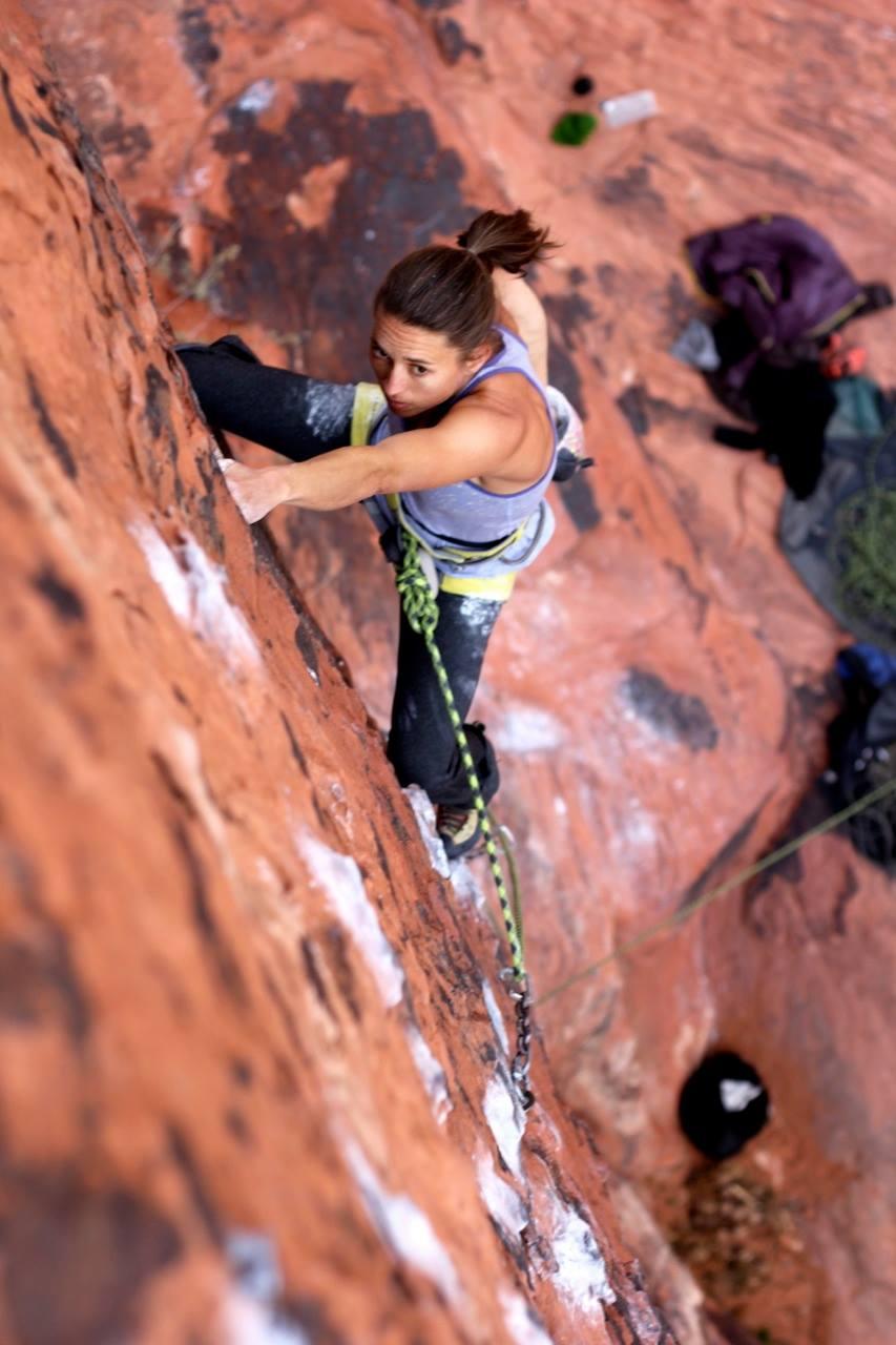 membership site entrepreneur neely quinn rock climbing
