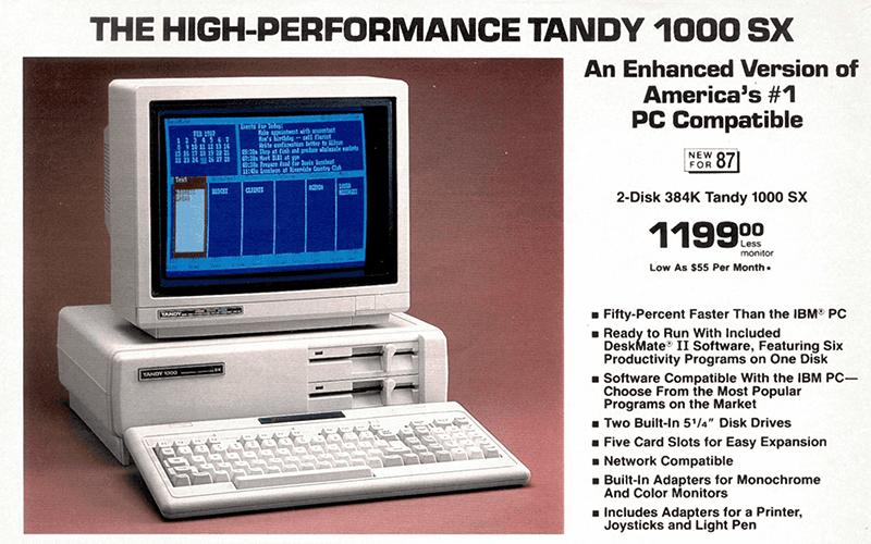 ibm tandy computer