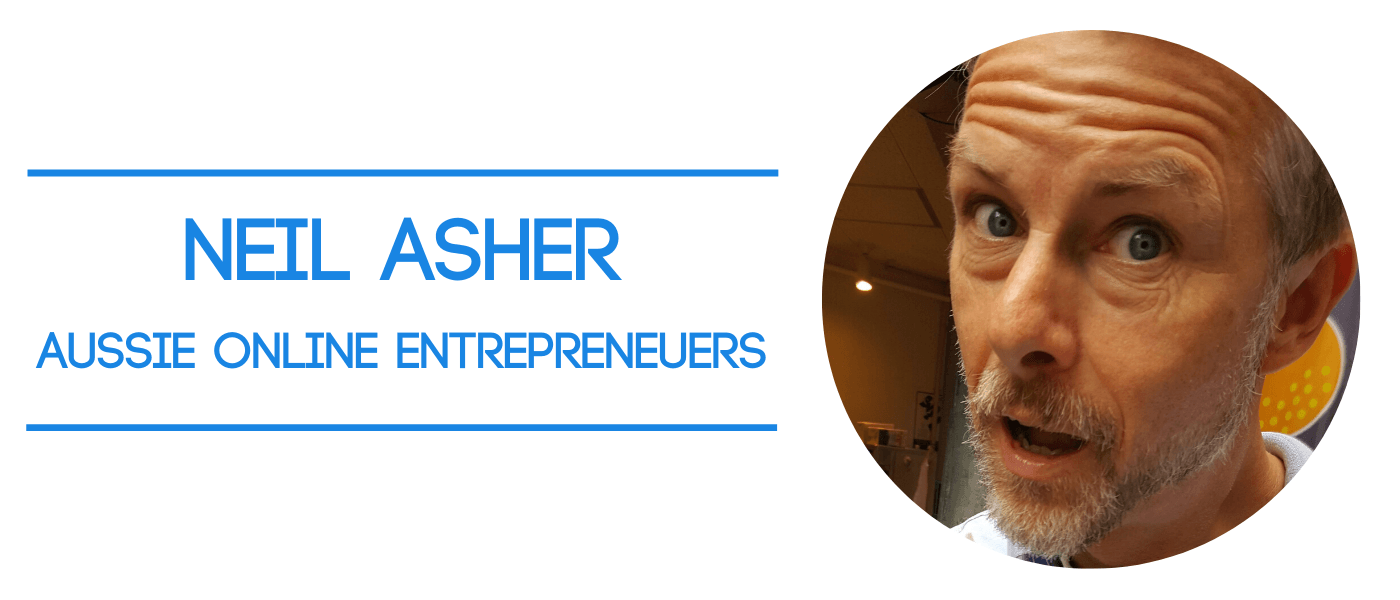 Neil Asher founder of Aussie Online Entrepreneurs