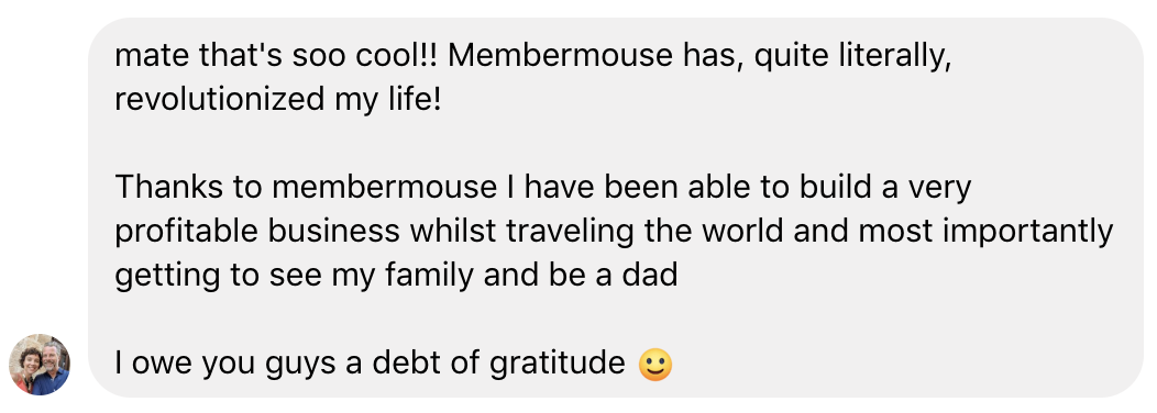 quote about MemberMouse from online entrepreneur Neil Asher