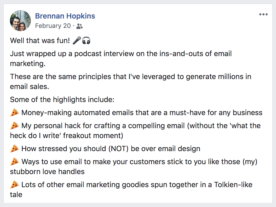 why email marketing is important bullet points