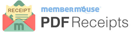 MemberMouse PDF Receipts plugin