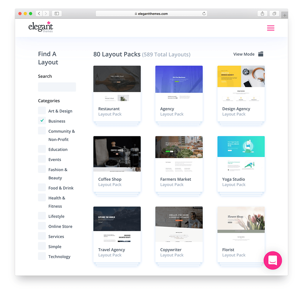 divi wordpress membership site theme layouts