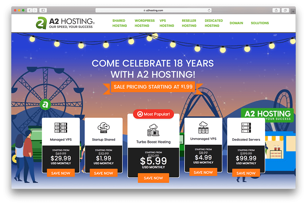 a2 hosting for wordpress membership sites