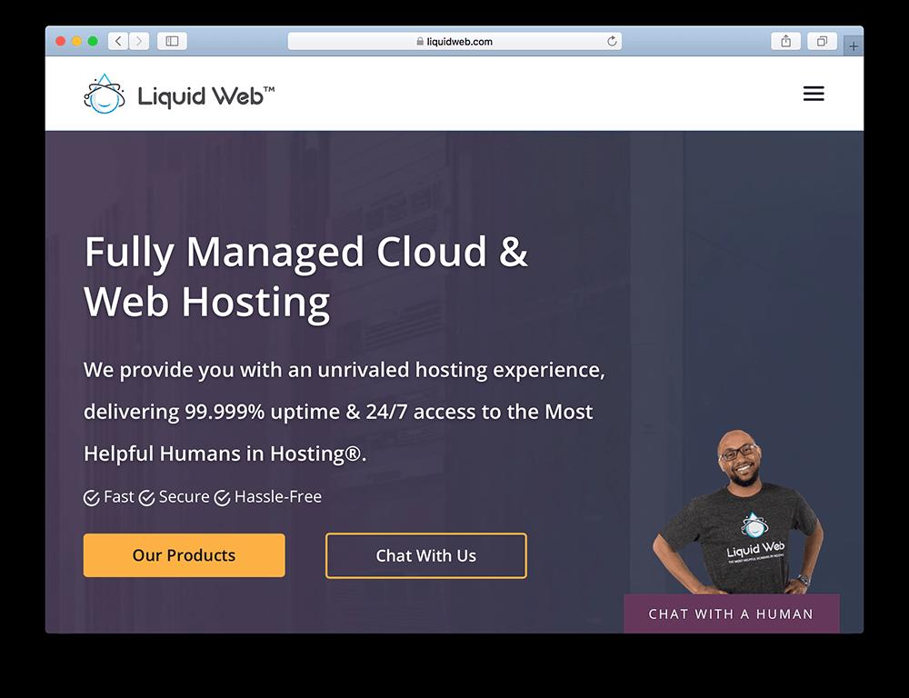 liquid web hosting for wordpress membership site