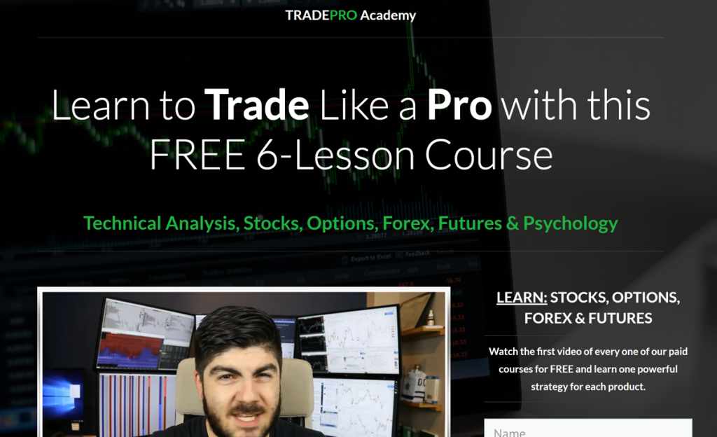 TradePro Academy course page