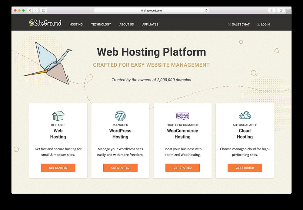 siteground wordpress membership site hosting