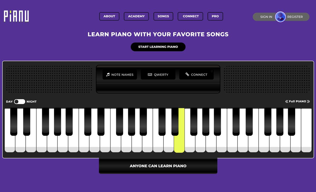 Pianu homepage