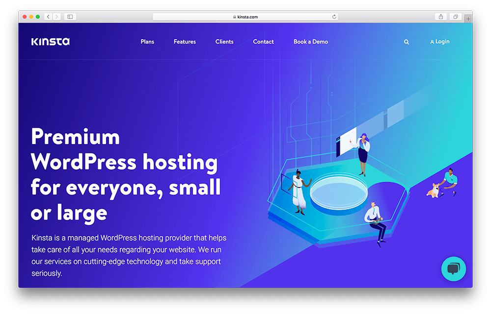 kinsta web host for wordpress membership site