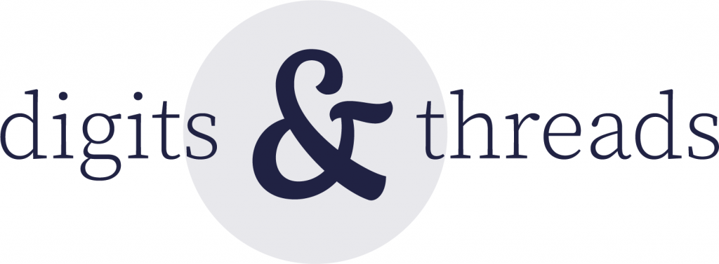 Digits & Threads logo