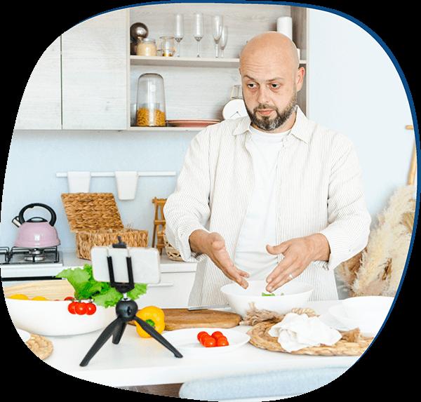 food blog membership site