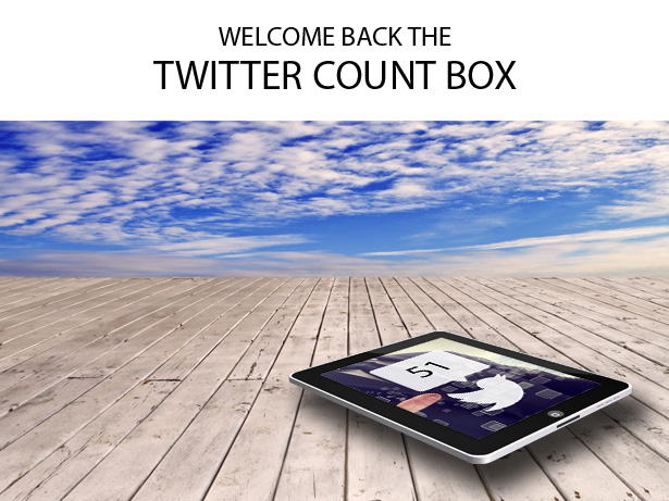 Twitter share count Sortable addon - 2