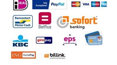 online betalen kredietkaart debetkaart webshop