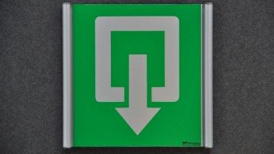 Curvo Plus pictogrammen of gebogen veiligheidspictogrammen in aluminium om veiligheidssignalisatie van gebouw wettelijk in orde te brengen.