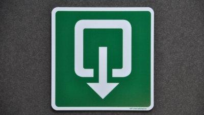 PVC pictogrammen of polypropyleen veiligheidspictogrammen om veiligheidssignalisatie van gebouw wettelijk in orde te brengen.
