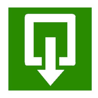 Aluminium pictogrammen uitgang of nooduitgang als aanduiding tijdens evacuatie online kopen of bestellen.