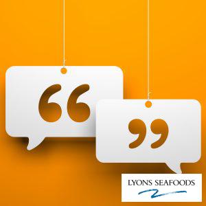 Developing Communication Lyons Seafood