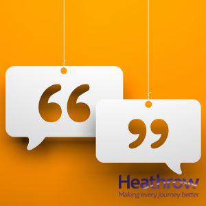 developing communication Heathrow