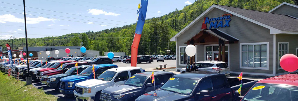 pre-owned vehicle lot at autosaver max littleton, nh near st. johnsbury