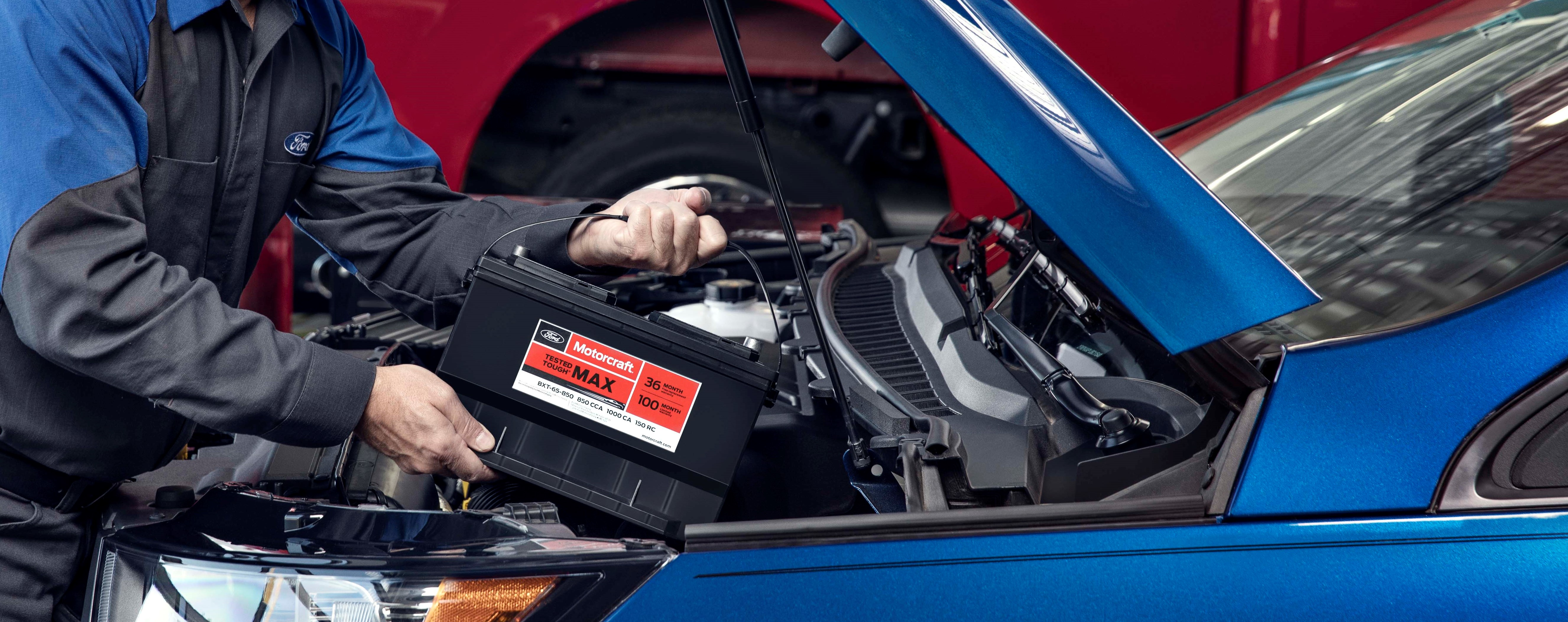 ford service battery