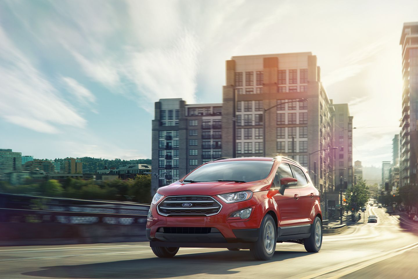 new red ford ecosport