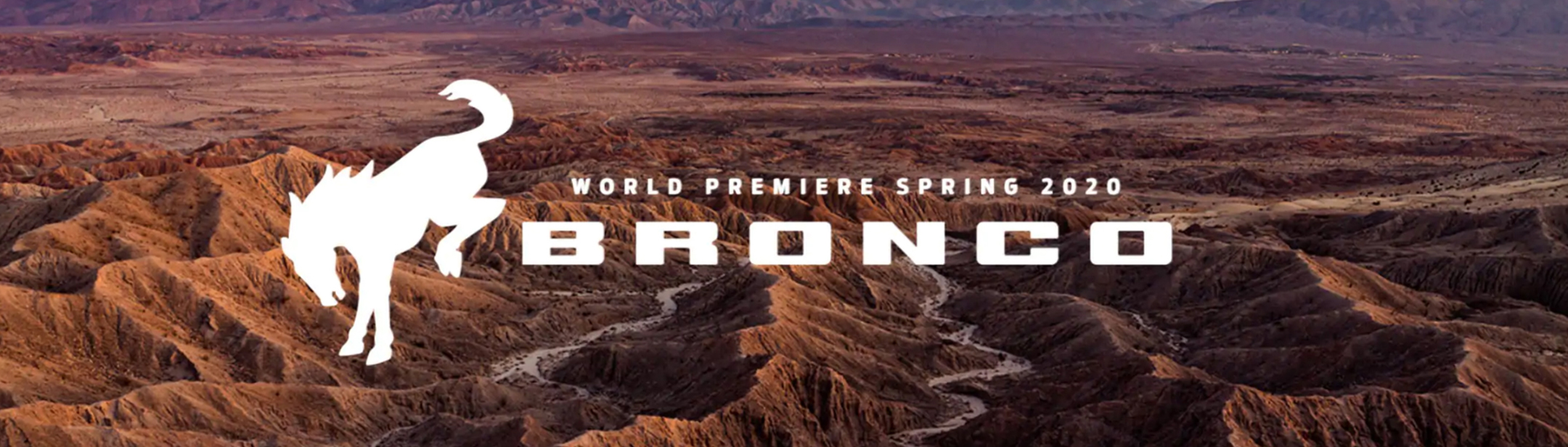 world premiere spring 2020 for ford bronco