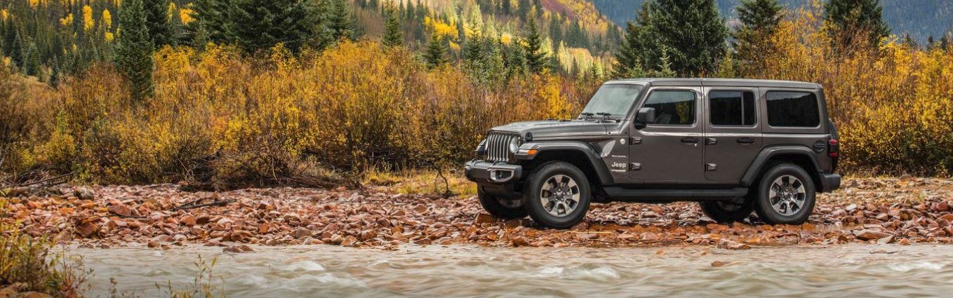 2018 jeep wrangler offroading