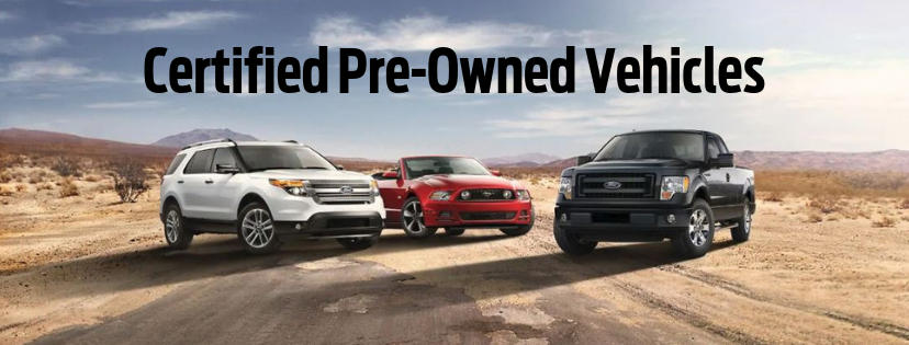 Drive certified pre-owned from Winner Ford today