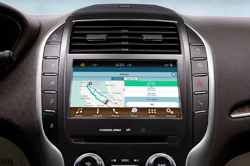 gps navigation with lincoln sync3