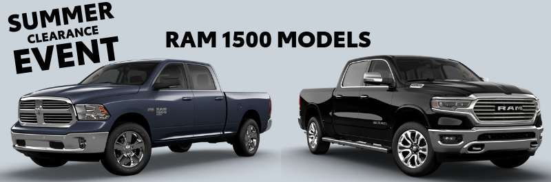 summer clearance event ram 1500 models
