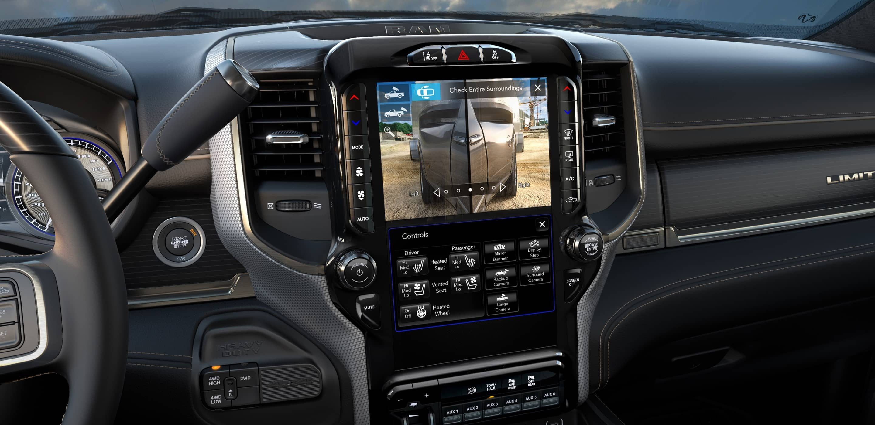 touchscreen in a 2020 ram 3500