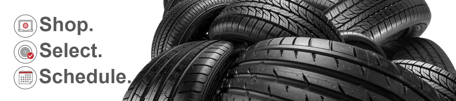 Get all of your tire needs taken care of at Performance Toyota online