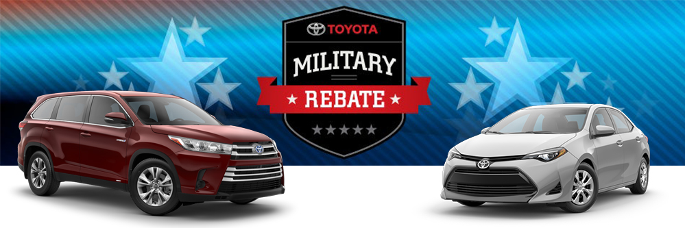 Toyota Military Discount