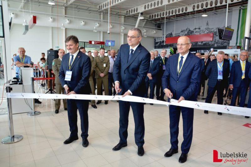 Port Lotniczy Lublin: Nowa część terminalu otwarta - Zdjęcie główne