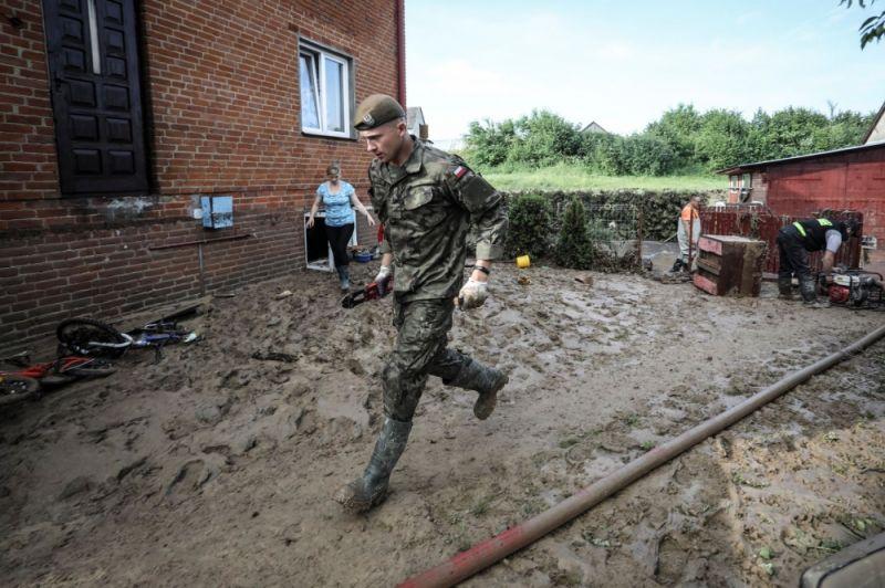 Terytorialsi pomagali w Wierzchowiskach - Zdjęcie główne