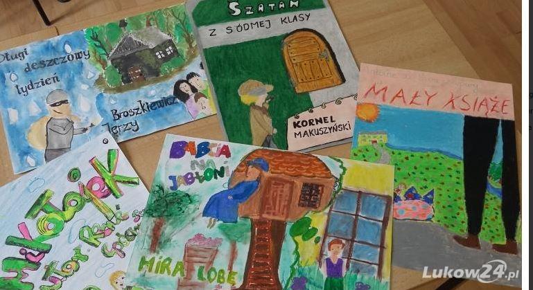 GMINA KRZYWDA Zaprojektuj  okładkę ulubionej książki i zgłoś pracę do konkursu  - Zdjęcie główne