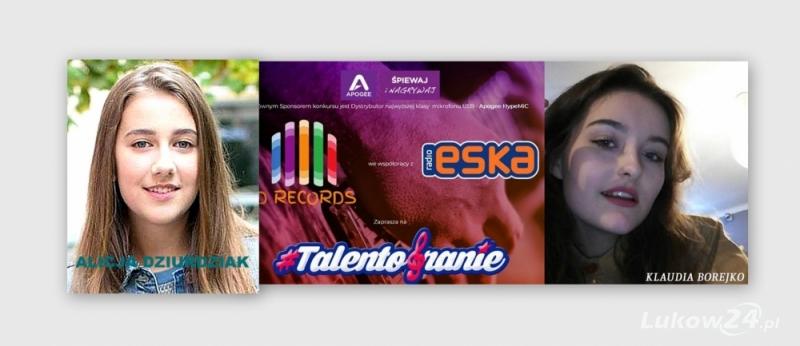 Klaudia Borejko, wokalistka Fabryki Piosenki ŁOK  i Alicja Dziurdziak, nasza przedstawicielka w I edycji The Voice Kids  w konkursie wokalnym  #talentobranie. Prosimy o głosy - Zdjęcie główne