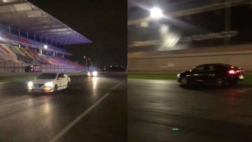 Road Cars Are Lapping Istanbul Park To Try And Increase The Grip