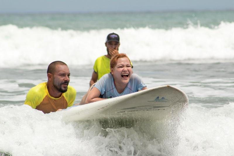 Day 4. Adaptive surfing lesson at Jacó Beach thumbnail