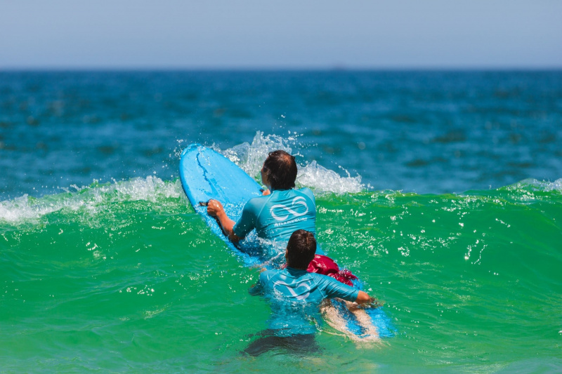 Day 5. Free time - optional adaptive surfing experience thumbnail