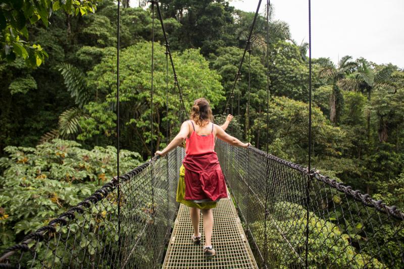 Day 5. Arenal Mistico Park hanging bridges thumbnail