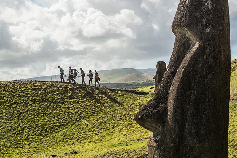Day 3. Trekking at Rano Raraku Volcano thumbnail