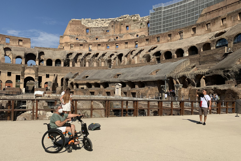 Day 2. Colosseo and Roman Forum visit