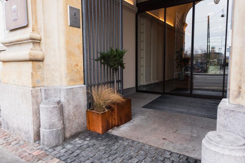 Villa Copehagen entrance