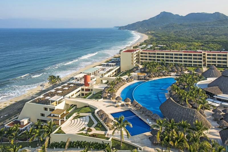 Overhead view of Iberostar Selection Playa Mita.