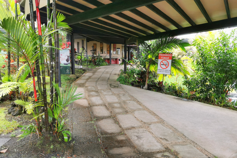Accessible entrance and pathway