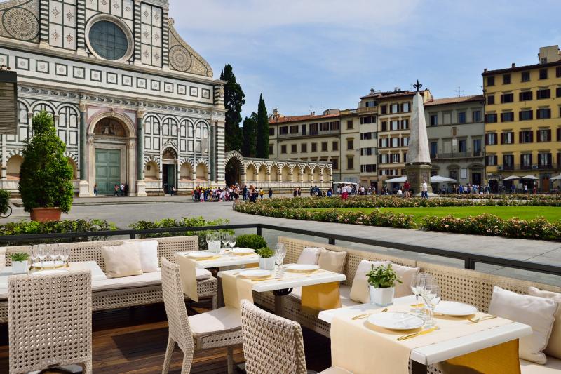 La Buona Novella restaurant terrace