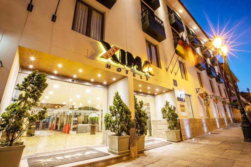 Xima Hotel Cusco entrance